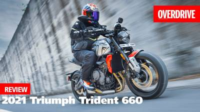 2021 Triumph Trident 660 review - more than just entry-spec!