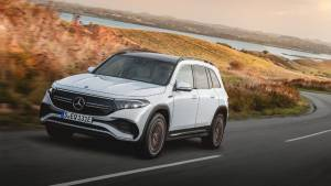 Auto Shanghai 2021: Seven-seater Mercedes-Benz GLB electric SUV debuts