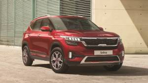 2021 Kia Seltos with new logo launched in India at Rs 9.95 lakh onwards