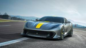 Ferrari reveals the 812 Competizione with 830PS and a 9,500rpm redline