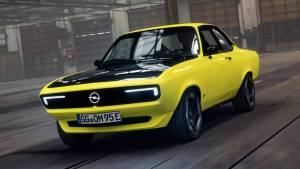 All-electric Opel Manta restomod celebrates coupe's 50th anniversary