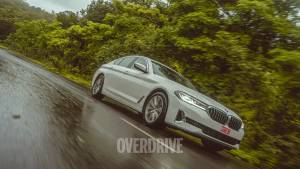 2021 BMW 5 Series facelift road test review