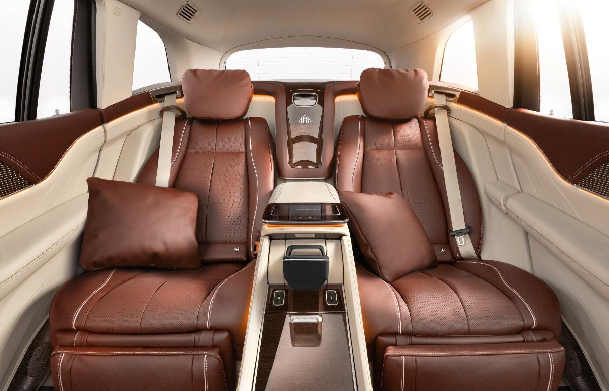 2021 Mercedes-Maybach GLS 600 rear seat