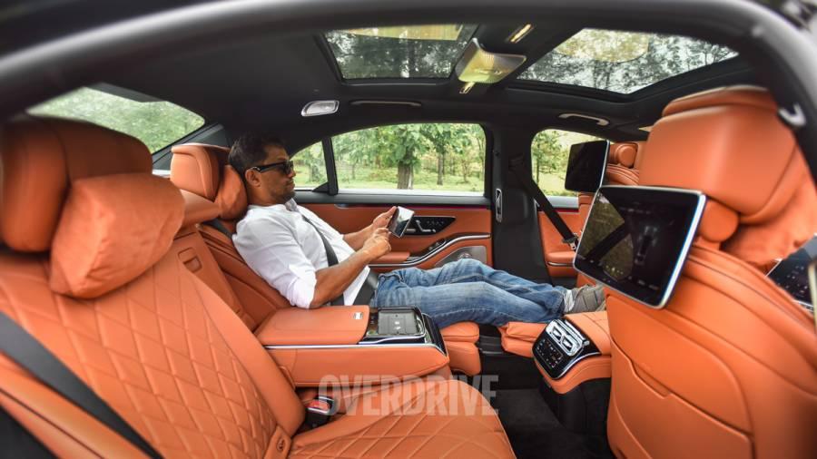 2021 Mercedes-Benz S-Class review interior rear seat