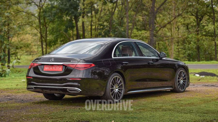 2021 Mercedes-Benz S-Class review exterior rear