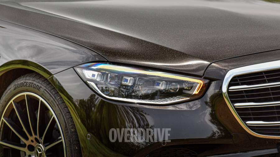 2021 Mercedes-Benz S-Class review exterior lighting