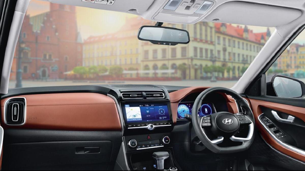 2021 Hyundai Alcazar interior dashboard