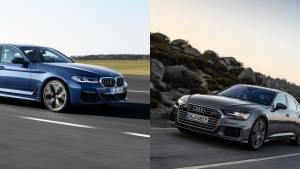 Spec comparison: 2021 BMW 5 Series facelift vs Audi A6