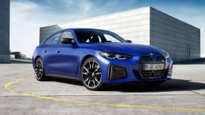 BMW takes wraps off the first-ever i4 sedan