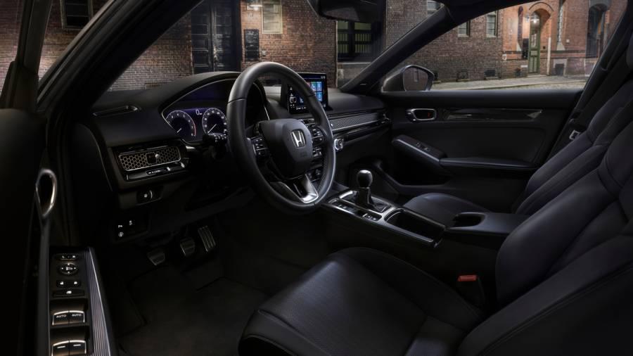 2022 Honda Civic Hatchback dashboard