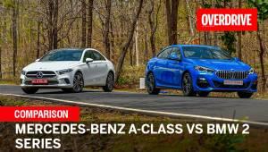 Mercedes-Benz A-Class vs BMW 2 Series diesel comparison test review