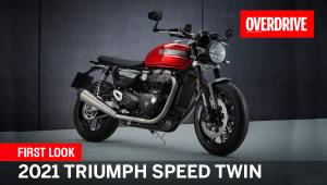 First Look - 2021 Triumph Speed Twin