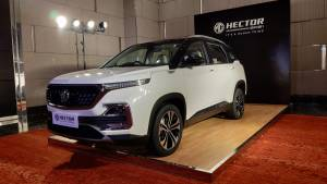 14,000 MG Hector SUV's to be recalled for software update