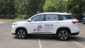 COVID19 impact: MG Motor India donates Hector converted into testing unit