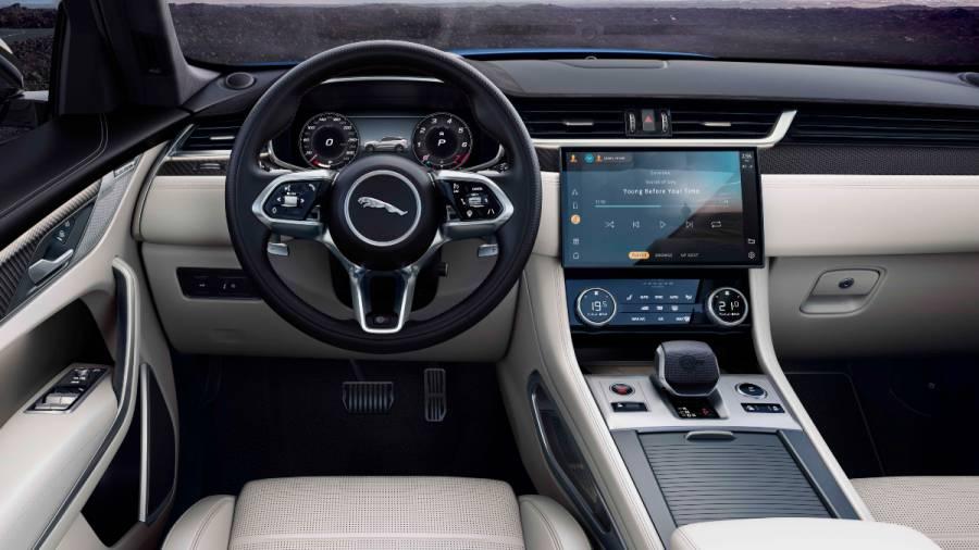 2021 Jaguar F-Pace SVR interior
