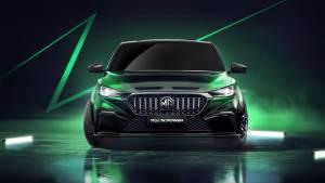 MG6 X-Power hybrid sports-sedan revealed