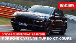 Scoop: Porsche Cayenne Turbo GT coupe revealed