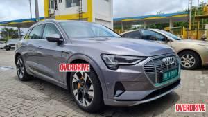 2021 Audi e-tron EV SUV spied in India ahead of launch
