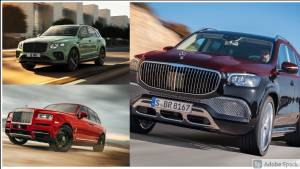 How does the Mercedes-Maybach GLS 600 stack up against the Bentley Bentayga and Rolls-Royce Cullinan?
