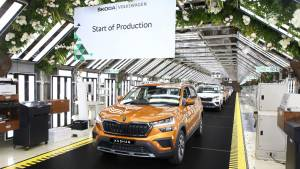 Skoda Kushaq production starts ahead of July launch