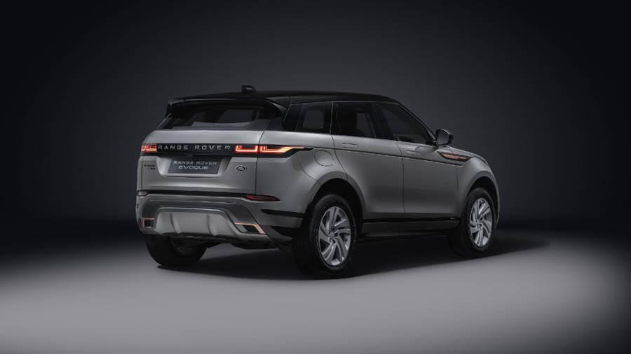 2021 range rover evoque exterior rear
