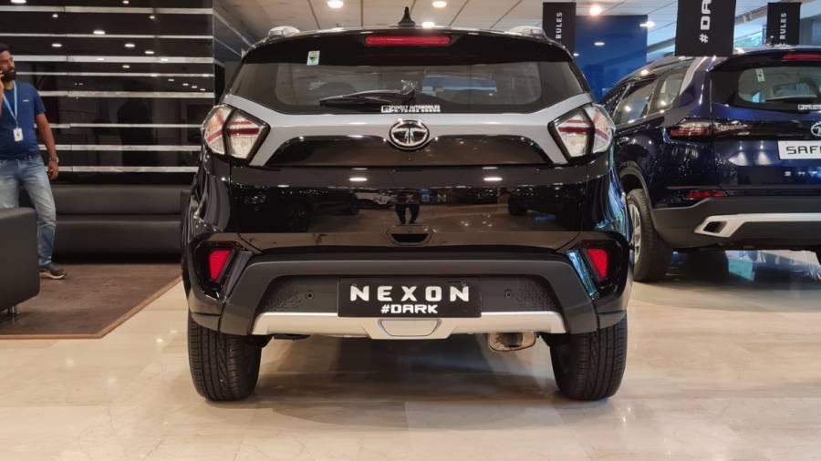 2021 Tata Nexon Dark Ediiton exterior rear