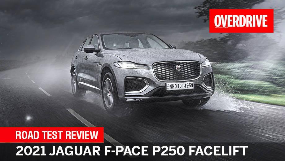 2021 Jaguar F-Pace P250 facelift road test review   How it should've been