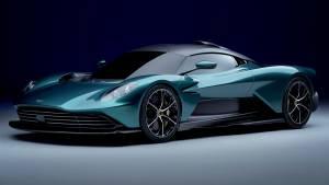 Plug-in hybrid V8 Aston Martin Valhalla supercar revealed in production form