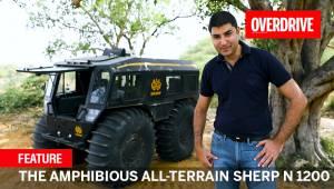 The Amphibious All-Terrain Sherp N 1200