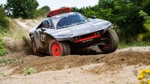 Audi RS Q e-tron aims to take on the Dakar with an electrified drivetrain