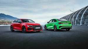 Audi RS3 breaks cover with 400PS, fastest accelerating hot hatch