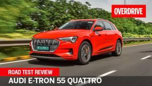 2021 Audi e-tron road test review   All-electric Q8 alternative?
