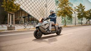 BMW CE 04 electric scooter revealed globally