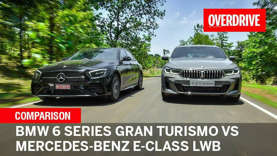 BMW 6 Series Gran Turismo vs Mercedes-Benz E-Class LWB comparo