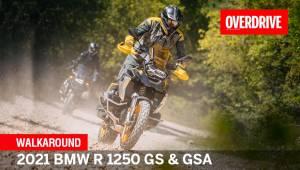 Walkaround - 2021 BMW R 1250 GS & GSA