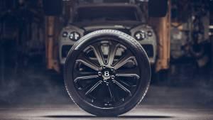 Bentley Mulliner develops world's largest carbon fibre wheel for the Bentayga