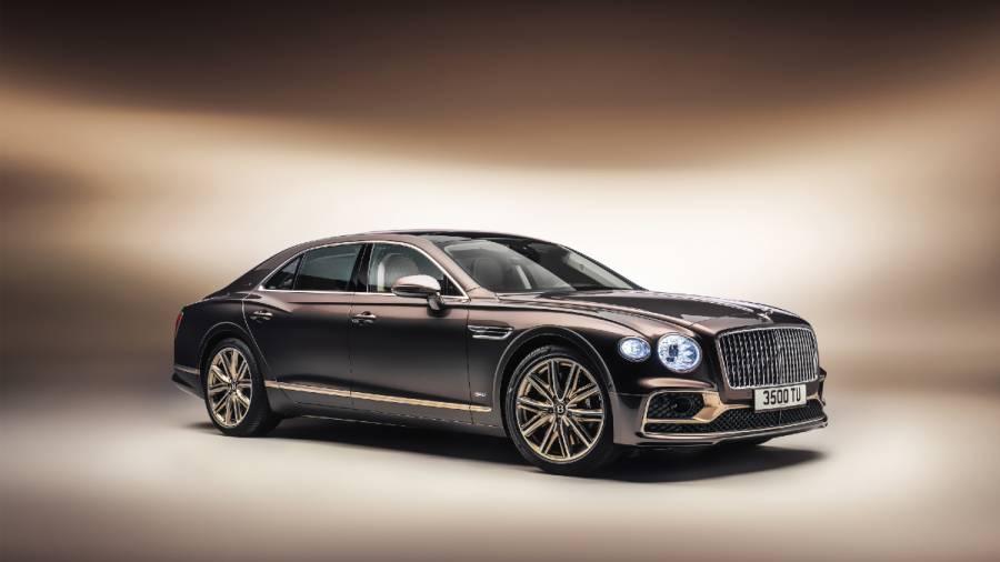 Bentley Flying Spur Hybrid Odyssean Edition exterior front