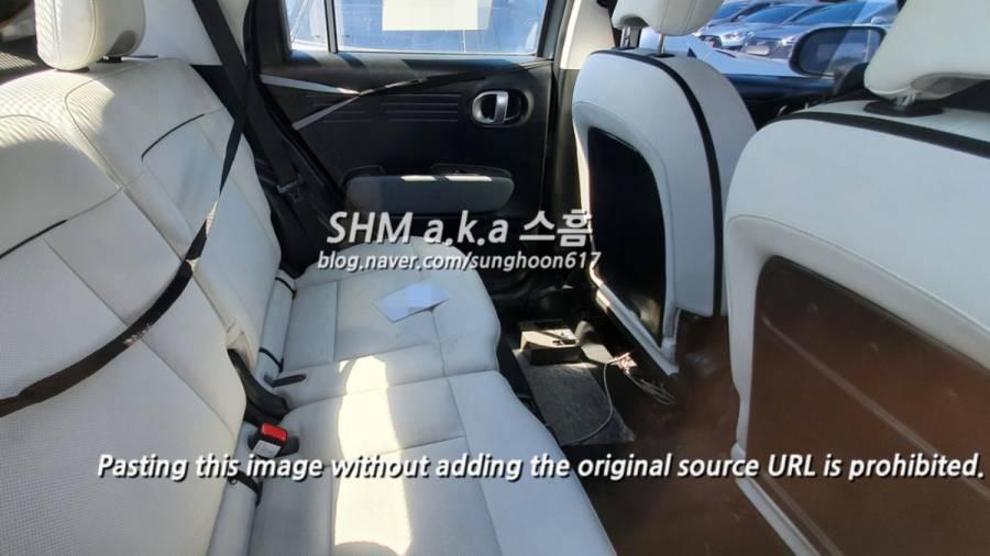 Hyundai AX1 micro SUV interior spy image