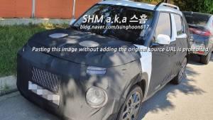 India-bound Hyundai AX1(Casper) micro-SUV interiors leaked