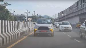 2021 Ford Ecosport facelift spied ahead of launch