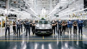 Lamborghini Urus crosses 15,000-unit production mark