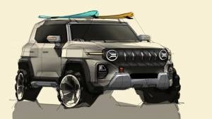 SsangYong reveals upcoming X200 SUV in sketches, previews new design direction