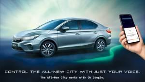 Honda Cars India introduces Google Assistant on 2021 Honda City