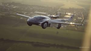 Air Car completes first inter-city trip