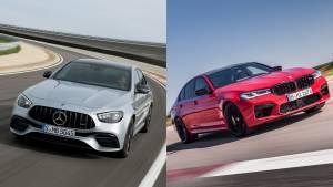 Spec comparison: 2021 Mercedes-AMG E 63S Vs BMW M5 Competition