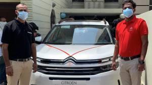 Citroen C5 Aircross home deliveries begin through online sales portal