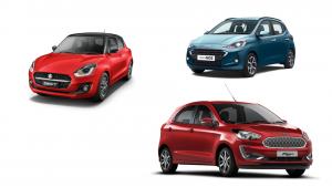 Spec comparison: Ford Figo AT Vs Maruti Swift AMT Vs Hyundai Grand i10 Nios AMT