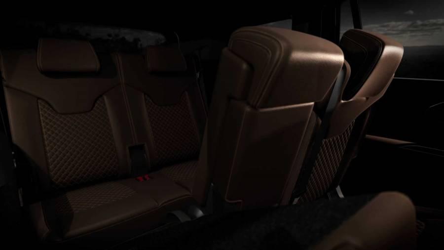 Jeep Commander 2022 interior thrid row