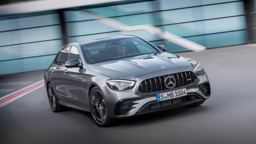 2021 Mercedes-AMG E 53 4Matic+ exterior front