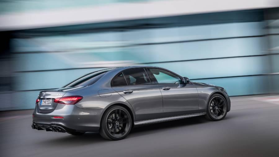 2021 Mercedes-AMG E 53 4Matic+ exterior rear
